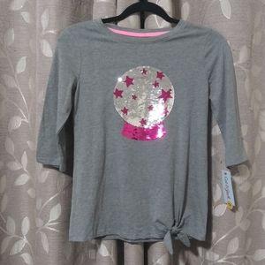 Girl's Sequin Shirt-NWT